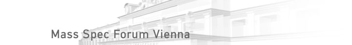 Mass Spec Forum Vienna Mathematik